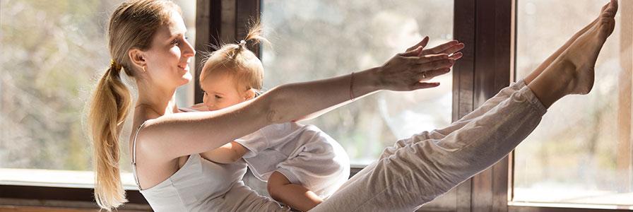 Soutien de la famille - Parents JE - Maman+Bébé Yoga