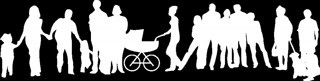 Association des Familles de Meudon - Logo Blanc