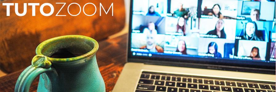 Tutoriel d'utilisation du logiciel Zoom, pour la visioconférence